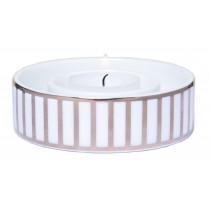 Frölich Exclusive, Candle Holder with Silver Stripes