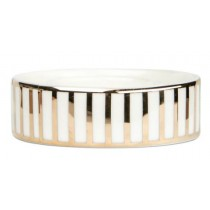 Frölich Exclusive, Candle Holder with Gold Stripes