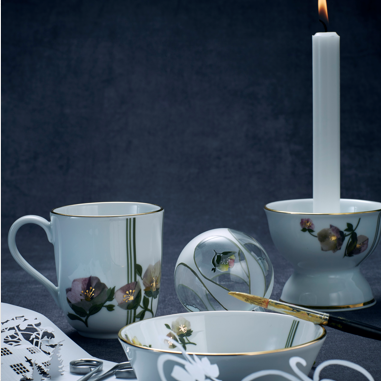 PORCELAIN & CANDLE
